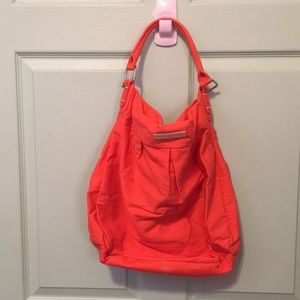 Orange American Eagle Outfitters slouchy purse